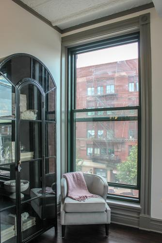 Apartment view of Center Ave - The Legacy