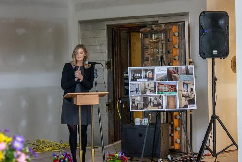 The Legacy (Crapo Building) Ribbon Cutting 2019 - Jenifer Acosta
