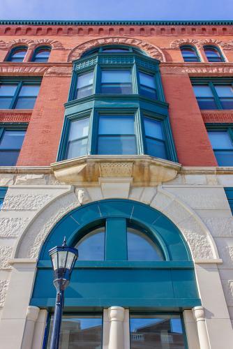 The Legacy facade - Washington Ave