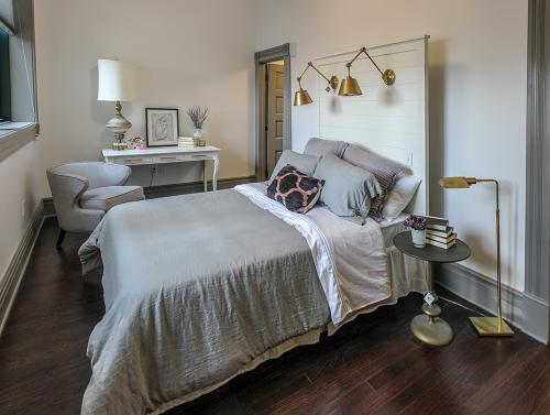 Spacious bedroom at The Legacy