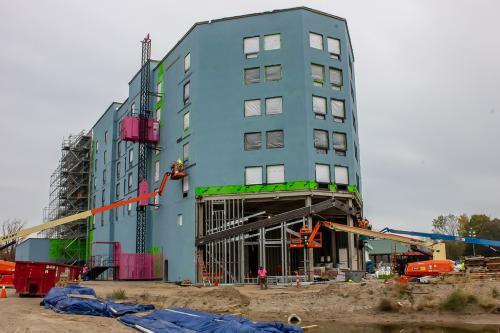 Saganing Eagles Landing Casino Construction Site