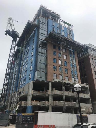 Six11, Ann Arbor - Construction