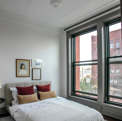 Bedroom with view of Center Ave - The Legacy