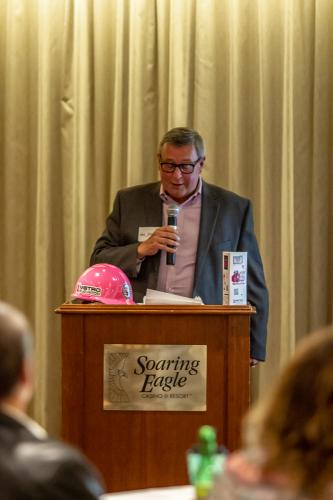 Herb Spence III at the Fundraiser for Susan G. Komen Michigan